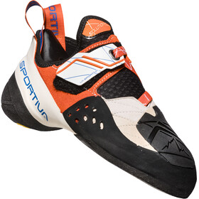 La Sportiva W's Solution Climbing Shoes White/Lily Orange